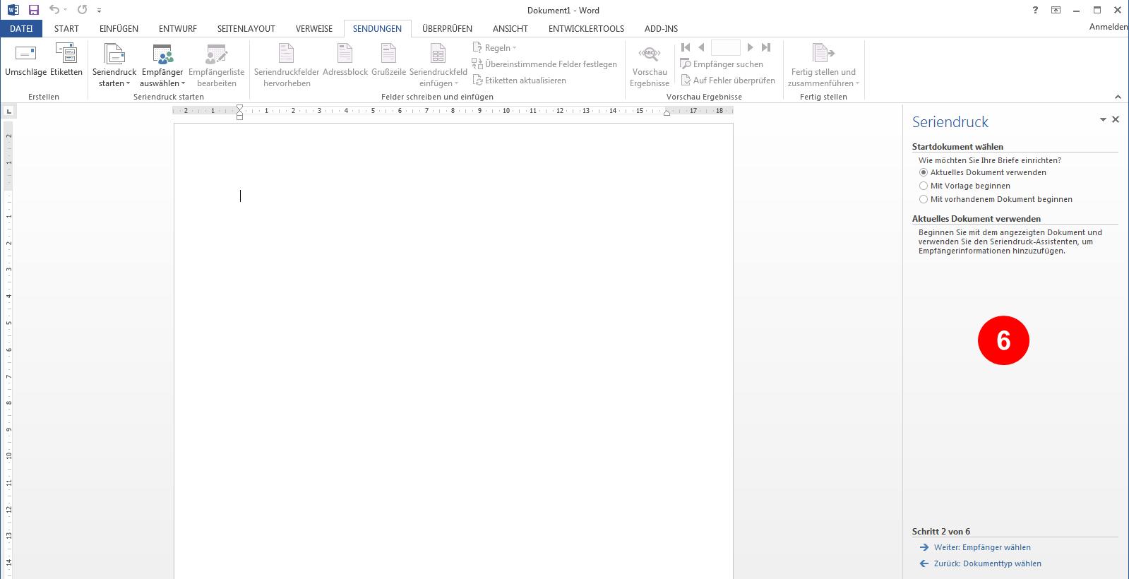 Wie erstelle ich einen Serienbrief aus SummitCRM? | SummitCRM